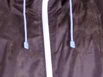 Bunda Live Mechanics Double Zipper bronz