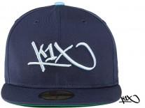 Cap K1X Tag Logo navy/sky blue