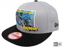 New Era Comics Panel Batman Snapback Cap