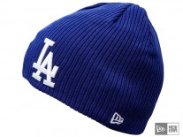 Čepice New Era Ribbed Knit LA Dodgers royal/white