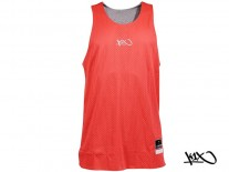 Dres K1X Hardwood Reversible Practice Mk2 x-red/grey