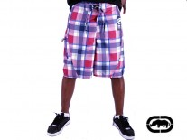 Ecko Boardshorts Plaid sangria