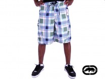 Ecko Boardshorts Plaid poison green