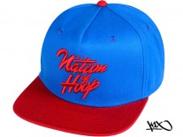 K1X Noh Snapback Cap blue/red