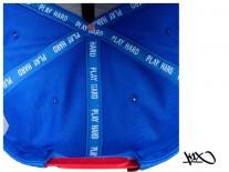 K1X Noh Snapback Cap blue/red