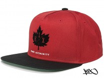 K1X Park Authority Snapback Cap red/black