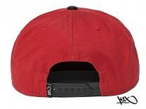 K1X Park Authority Snapback Cap red/black