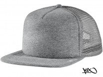 K1X Plain Tag Trucker Cap grey/white