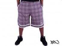Kraťasy K1X Check It Out Cotton brown/white