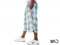 Kraťasy K1X Check It Out Reversible mint/white