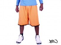 Kraťasy K1X Roll Up Practice orange/black