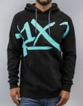 Mikina K1X Core Performance Hoody black/mint