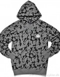 Mikina K1X Core Tag camo hoody dark grey