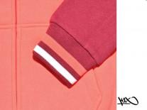 Mikina K1X varsity zip Pink/Purple