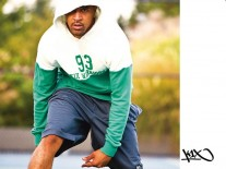 Mikina K1X Warriors boston green/white