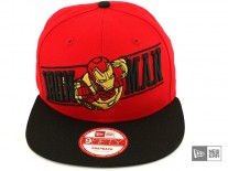 New Era Breaker Ironman Snapback Cap