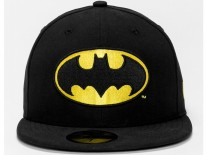 New Era Character Badge Batman 5950 Cap black/yellow