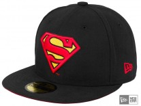New Era Character Badge Superman 5950 Cap black/multi