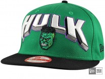 New Era Hero Block Hulk Snapback Cap