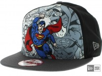 New Era Hero Break Superman Snapback Cap