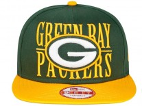 New Era Step Over Green Bay Packers Snapback Cap