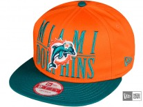 New Era Step Over Miami Dolphins Snapback Cap