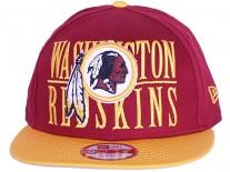 New Era Step Over Washington Red Skins Snapback Cap