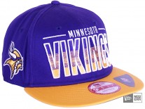 New Era Team Fade Minnesota Vikings Snapback Cap