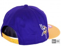 New Era Team Fade Minnesota Vikings Snapback Cap