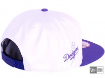 New Era White Pop LA Dodgers Snapback Cap