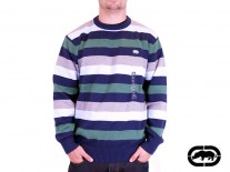 Svetr Ecko Core Stripe field green