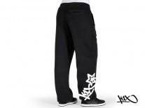 Tepláky K1X Shorty Basic Tag black/white