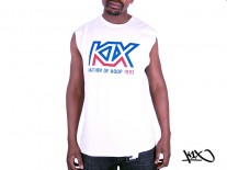 Tílko K1X Track Logo Sleeveless white/royal/red