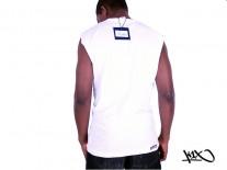 Tílko K1X Track Logo Sleeveless white/royal/red