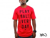 Triko K1X Ball Every Day red/black