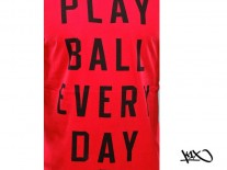 Triko K1X Ball Every Day red/black