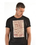Triko K1X Basketbrawl tee black/red