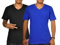Triko K1X Double Impact V-neck blue/black