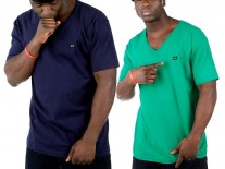 Triko K1X Double Impact V-neck green/navy