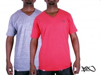 Triko K1X Double Impact V-neck red/grey