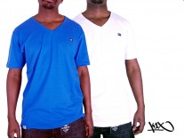 Triko K1X Double Impact V-neck royal blue/mashmellow