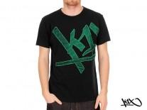 Triko K1X Fade Check Wrap Around black/green