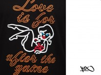 Triko K1X Neon Love Is After The Game black/multi