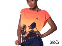 Triko K1X Shorty 80s Paradise Loose neon orange