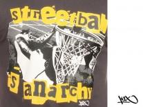 Triko K1X Streetball Is Anarchy grey/yellow