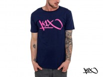 Triko K1X Tag navy/rose